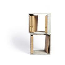 Modular shelf / contemporary / concrete