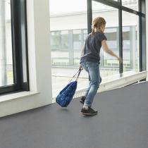 Vinyl flooring / commercial / roll / smooth