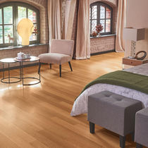 Engineered wood flooring / glued / oiled / matte