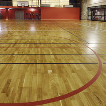 Vinyl sports flooring / for indoor use / for multipurpose gyms
