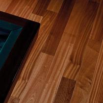 Solid wood flooring / glued / sapelli / ash