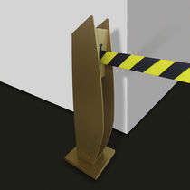 Access control barrier / self-supporting / metal / for public buildings