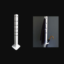 Floor coat rack / contemporary / aluminum / commercial