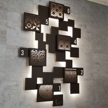 Aluminum decorative panel / wall-mounted / for interior fittings / lightweight