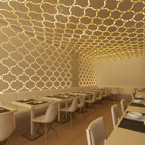 Cover decorative panel / aluminum / for interior fittings / for false ceilings