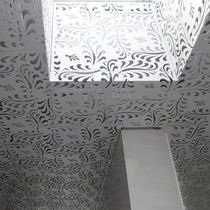 Construction decorative panel / aluminum / for false ceilings / for ceilings