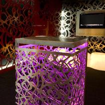 Floor-standing lamp / original design / metal / outdoor
