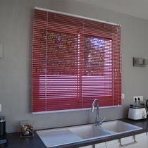 Venetian blinds / aluminum / motorized / custom