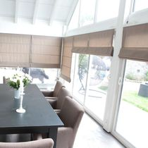 Roman blinds / canvas / blackout / chain-operated