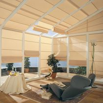 Pleated blinds / fabric / motorized / conservatory