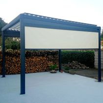 Roller blinds / canvas / outdoor / commercial