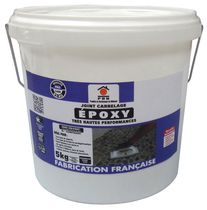 Jointing mortar / for flooring screed / epoxy