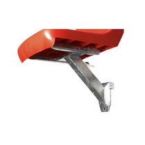 Stadium seat bracket
