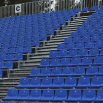 Disassemblable stadium seating