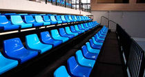 Telescopic stadium seating / with hide-away seats