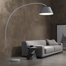 Floor-standing lamp / contemporary / metal