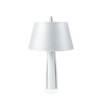 Table lamp / contemporary / ceramic / wooden
