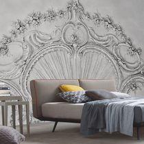 Contemporary wallpaper / nonwoven fabric / vinyl / baroque