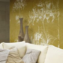 Traditional wallpaper / nonwoven fabric / vinyl / floral