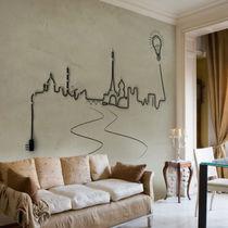 Contemporary wallpaper / nonwoven fabric / fiberglass / patterned