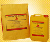 Parge coating / sealing / for basins / cement-based