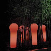 Plastic garden pot / illuminated