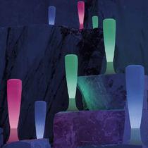 Garden bollard light / contemporary / plastic / LED
