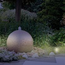 Urban bollard light / garden / contemporary / stainless steel