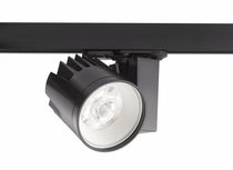 LED track light / round / cast aluminum / museum