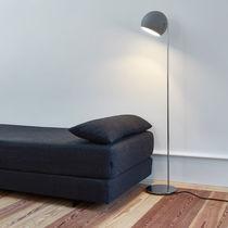 Floor-standing lamp / contemporary / aluminum / reading