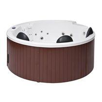 Built-in hot tub / circular / 5-seater / outdoor