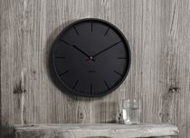 Contemporary clock / analog / wall-mounted / plastic