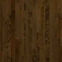 Solid wood flooring / engineered / glued / birch