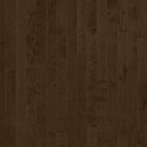 Solid wood flooring / glued / maple / varnished