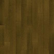 Engineered wood flooring / glued / white oak / brushed