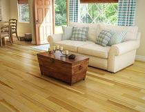 Engineered wood flooring / glued / varnished