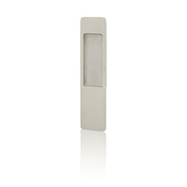 Window pull handle / brass / contemporary / recessed