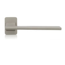 Metal door handle / brass / contemporary
