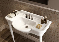 Ceramic washbasin stand