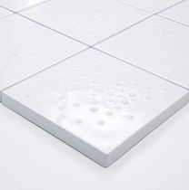 Bathroom tile / floor / ceramic / patterned