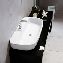 Countertop washbasin / other shapes / ceramic / contemporary