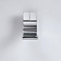 Washbasin mixer tap / wall-mounted / chromed metal / brass
