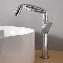 Washbasin mixer tap / chromed metal / brass / bathroom