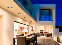 Recessed downlight / outdoor / LED / round