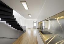Recessed ceiling light fixture / fluorescent / LED / rectangular