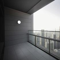 Contemporary wall light / outdoor / aluminum / acrylic