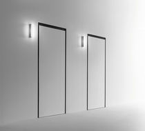 Contemporary wall light / extruded aluminum / LED / linear