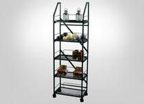 Contemporary shelf / metal / commercial / for shops