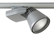 LED track light / round / cast aluminum / commercial