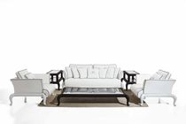 Traditional sofa / garden / resin wicker / 2-seater